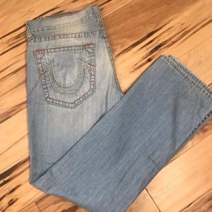 True Religion Sz 34 Section straight seat jeans
